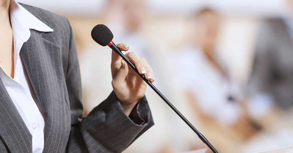 Language Coaching e Apresentações em Público